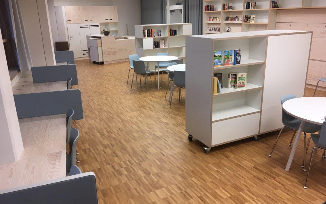 Bibliothek nach 9-jähriger Planungsphase eröffnet