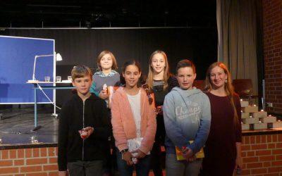 Vorlesewettbewerb Jg. 6: Johann aus der 6b ist Schulsieger
