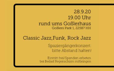 DÜHH Streetband: Einladung zum großen Auftaktkonzert am 28.9.2020